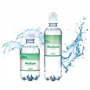 Werbewasser Medium