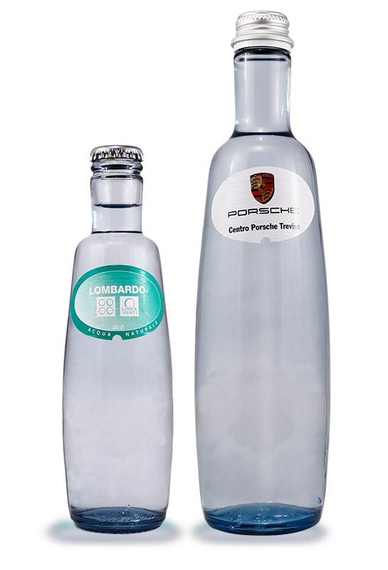 Mineralwasser Glasflasche Pineo
