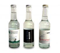 25 cl Glasflasche Werbe-Wasser mit Logo Aufdruck