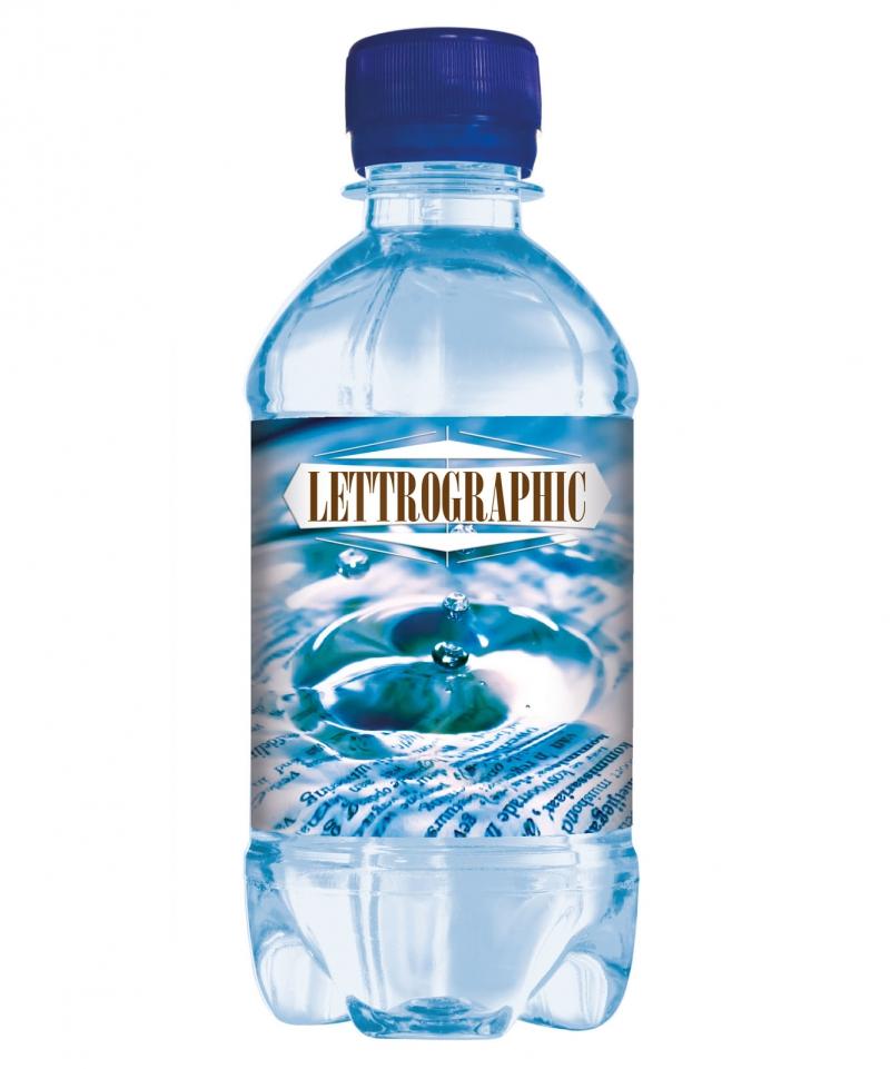 Blaue 330 ml Werbe Wasser