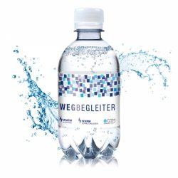 330ml Wasserflasche mit Logo Druck