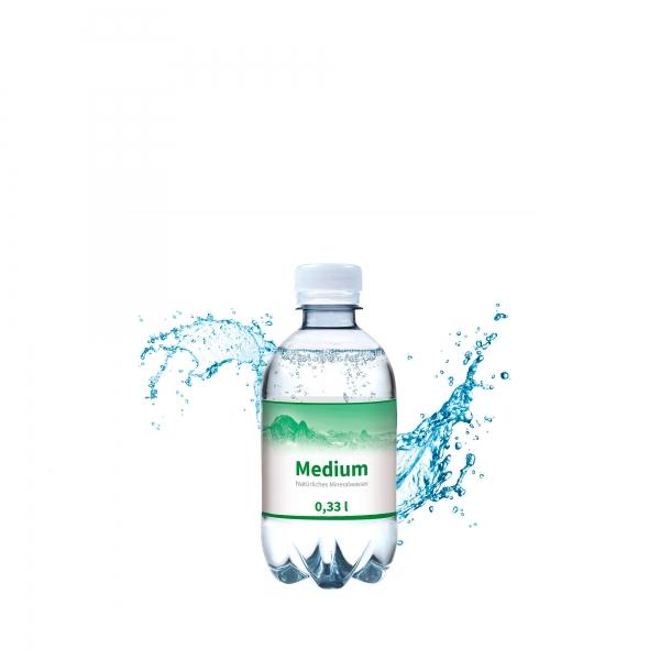 Wasser Flasche Medium 330 ml Drehverschluss