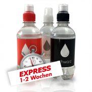 330 ml Wasser / Sportscapverschluss / Folienetikett