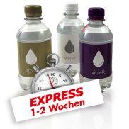 330 ml Wasser Express / Drehverschluss / Folienetikett