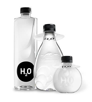 333 ml, 555 ml, 777 ml Design Flaschen