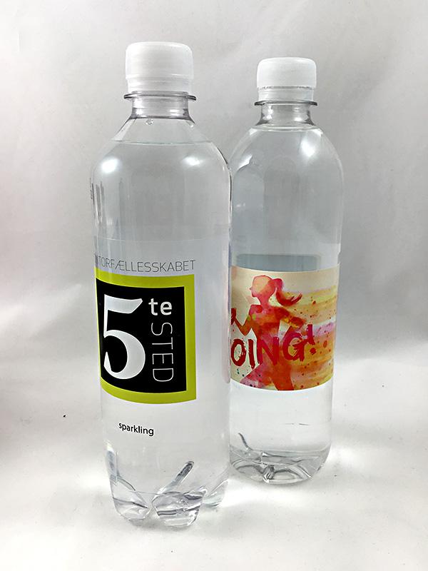 600 ml Wasser Folie Etikett