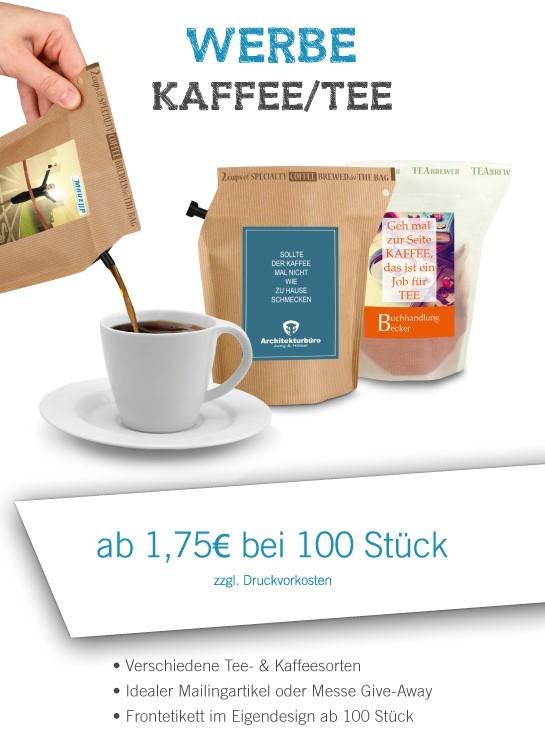 Kaffee Brewer Tüte ab 100 Stück