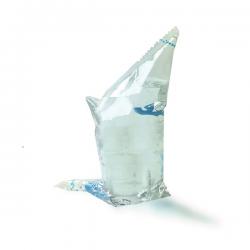 250 ml Wasserbeutel transparent
