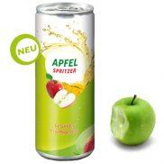 Apfelspritzer in der Dose / 250 ml Werbegetränk