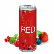 Iso Drink Redberries / 250 ml Slimline Dose