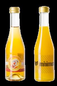 O-Saft Glasflasche mit eigenem Logo