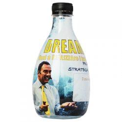 555 ml Design Wasserflasche mit Foliensleeve