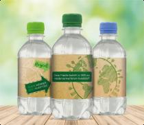 recycelte pet flaschen