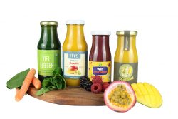 frucht smoothie mit private label