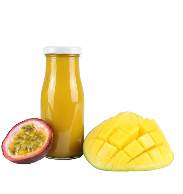 werbeartikel Mango und Maracuja smoothie