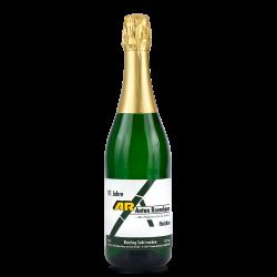 alkoholfreie Sektflasche